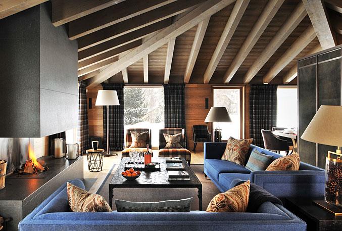 Nicky Dobree, Interior Designer, Interior Design, Luxury Ski ...