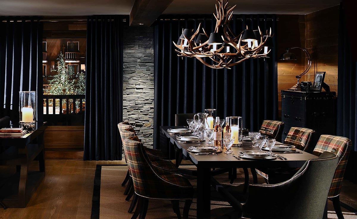 Luxury ski chalet interiors ski lodge cabin designs luxdeco
